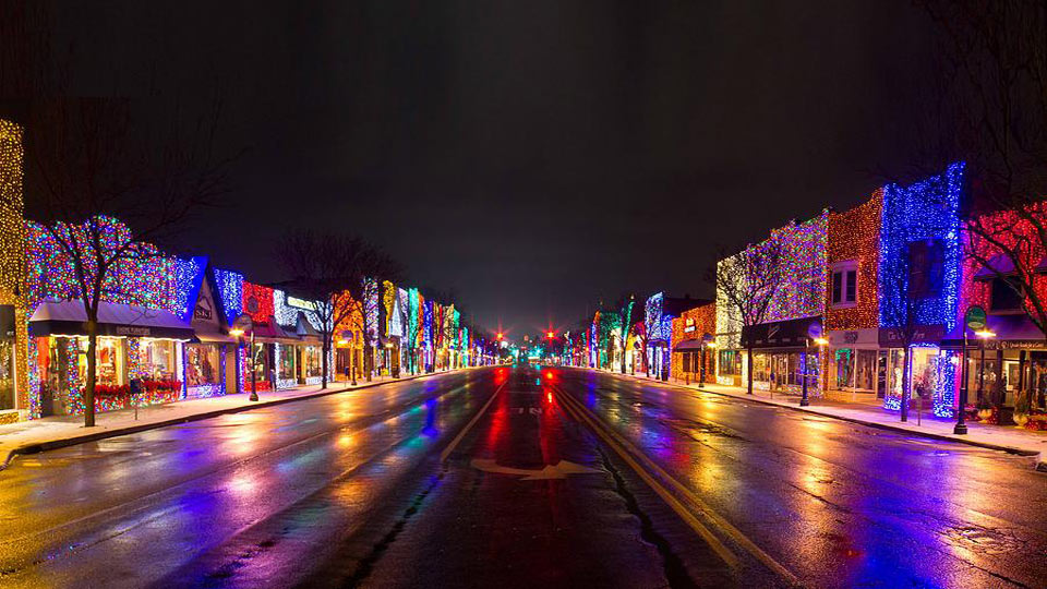 Rochester Hills Christmas Lights